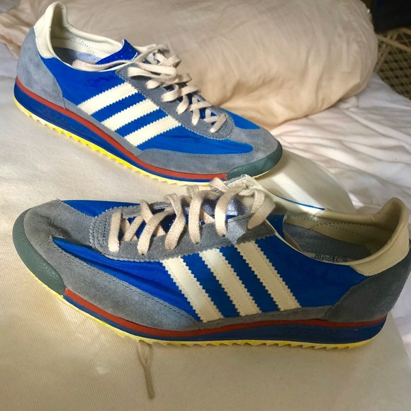 70s adidas shoes | Etsy